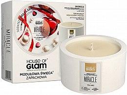Парфюмерия и Козметика Соева ароматна свещ - House of Glam Miracle You Are Candle