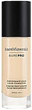 Парфюмерия и Козметика Фон дьо тен - Bare Escentuals Bare Minerals Barepro 24-Hour Full Coverage Liquid Foundation Spf20