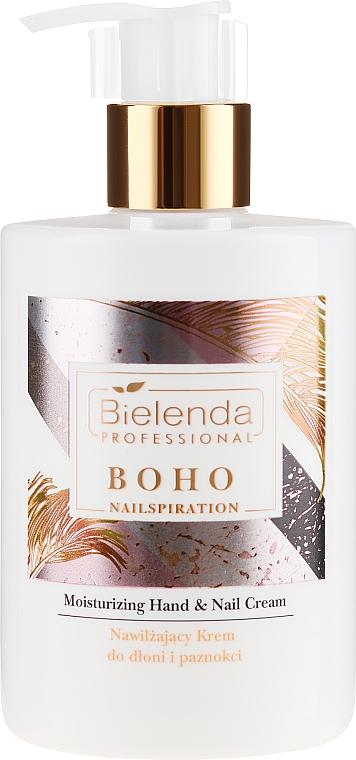 Хидратиращ крем за ръце и нокти - Bielenda Professional Nailspiration Boho Moisturising Hand & Nail Cream
