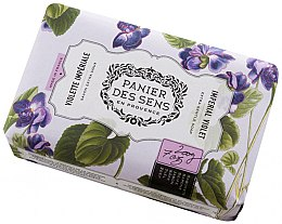 Парфюмерия и Козметика Сапун - Panier Des Sens Extra Fine Natural Soap With Shea Butter Imperial Violet