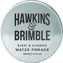 Парфюми, Парфюмерия, козметика Продукт за коса на водна основа - Hawkins & Brimble Elemi & Ginseng Water Pomade
