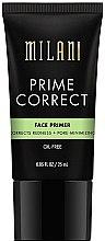 Парфюми, Парфюмерия, козметика Изравняваща основа за лице против зачервявания - Milani Prime Correct Redness + Pore-Minimizing Face Primer