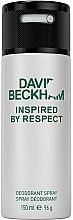 Парфюми, Парфюмерия, козметика David Beckham Inspired by Respect - Дезодорант аэрозольный