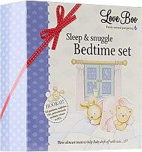 Парфюмерия и Козметика Комплект - Love Boo Sleep & Snuggle Bedtime Set (lotion/50ml + spray/100ml + bath/foam/50ml)