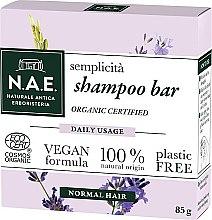 Парфюмерия и Козметика Твърд шампоан - N.A.E. Semplicita Daily Usage Shampoo Bar