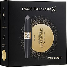 Парфюми, Парфюмерия, козметика Комплект - Max Factor (спирала/13ml+пудра за лице (005)/21g)