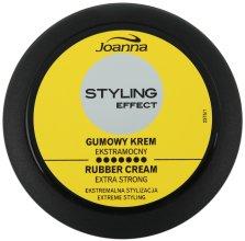 Парфюми, Парфюмерия, козметика Стилизиращ крем за коса с екстра силна фиксация - Joanna Rubber Extrastrong Styling Cream
