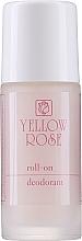 Парфюмерия и Козметика Рол-он дезодорант за жени - Yellow Rose Deodorant Pink Roll-On