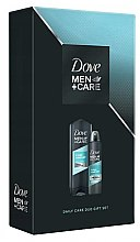 Парфюми, Парфюмерия, козметика Комплект за тяло - Dove Men + Care Daily Care Duo Gift Set (део/150ml + душ гел/400ml)
