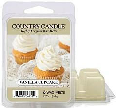 Парфюмерия и Козметика Восък за арома лампа - Country Candle Vanilla Cupcake Wax Melts