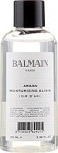 Парфюми, Парфюмерия, козметика Хидратиращ еликсир с арганово масло за коса - Balmain Argan Moisturizing Elixir