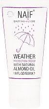 Парфюмерия и Козметика Детски защитен крем за лице и тяло - Naif Weather Protection Cream