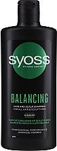 Парфюмерия и Козметика Шампоан с женшен за всеки тип коса - Syoss Balancing Ginseng Shampoo