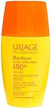 Парфюмерия и Козметика Слънцезащитен флуид-крем за лице - Uriage Bariesun Ultra-Light Fluid SPF50+