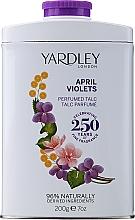 Парфюмерия и Козметика Yardley April Violets - Парфюмен талк