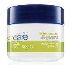 Парфюми, Парфюмерия, козметика Крем за лице с краставица и зелен чай - Avon Care Light Moisture Face Cream