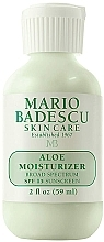 Парфюмерия и Козметика Овлажняващ крем за лице - Mario Badescu Aloe Moisturizer SPF 15