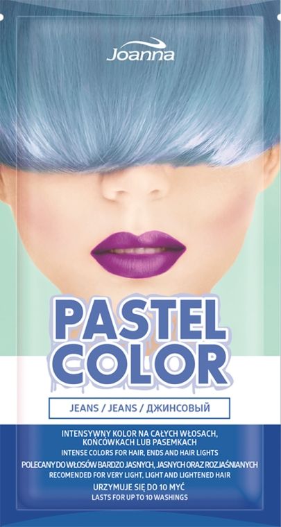 Оцветяващ шампоан, пастелни нюанси - Joanna Pastel Color