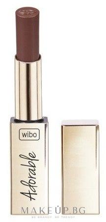 Червило за устни - Wibo Adorable Matte Lipstick — снимка 1 - Choco Kiss