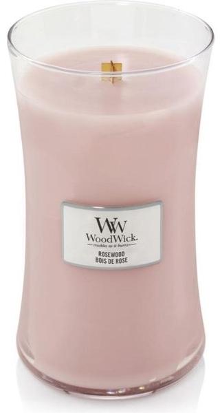 Ароматна свещ в чаша - WoodWick Hourglass Candle Rosewood — снимка N1