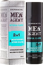 Парфюми, Парфюмерия, козметика Балсам след бръснене - Dermacol Men Agent Moisturiser After Shave