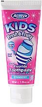 Парфюми, Парфюмерия, козметика Детска паста за зъби, без захар с аромат на ягода - Beauty Formulas Active Oral Care