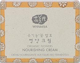 Парфюмерия и Козметика Хидратиращ крем за лице - Whamisa Organic Flowers Nourishing Cream