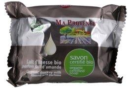 Парфюмерия и Козметика Био органичен сапун с магрешко мляко и бадем - Ma Provence Organic Soap