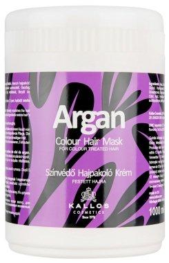 "Маска за боядисана коса ""Арган"" - Kallos Cosmetics Argan Color Hair Mask"