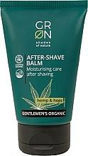 Парфюмерия и Козметика Балсам за след бръснене - GRN Gentlemen's Organic Hemp & Hop After-Shave Balm
