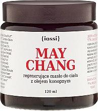 Парфюмерия и Козметика Регенериращо масло за тяло с масло от коноп - Iossi Regenerating Body Butter