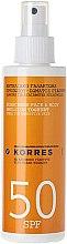 Парфюми, Парфюмерия, козметика Слънцезащитна емулсия за лице и тяло - Korres Yoghurt Face & Body Sunscreen Emulsion SPF50