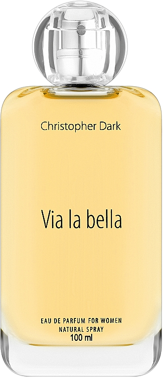 Christopher Dark Via La Bella - Парфюмна вода