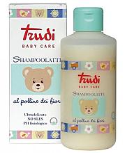 Парфюми, Парфюмерия, козметика Детски шампоан-мляко с цветен прашец - Trudi Baby Shampoo Milk With Flower Pollen