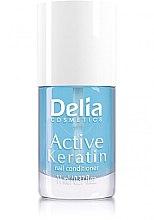 Парфюми, Парфюмерия, козметика Активен кератин за нокти - Delia Cosmetics Active Keratin Nail Conditioner