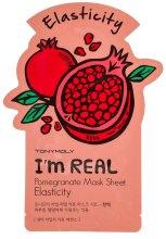Парфюми, Парфюмерия, козметика Памучна маска за лице с есктракт от нар - Tony Moly I'm Real Pomegranate Mask Sheet