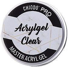Парфюмерия и Козметика Безцветен гел за нокти - Chiodo Pro Acryl Gel Clear Gel