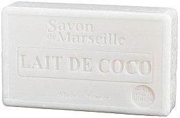 """Парфюмерия и Козметика Натурален сапун """"Кокосово мляко"""" - Le Chatelard 1802 Soap Coconut Milk"""