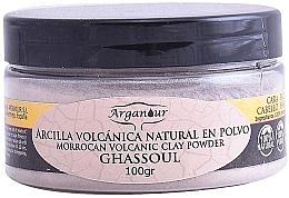 Парфюмерия и Козметика Глинена маска за лице и коса - Arganour Morrocan Volcanic Clay Powder