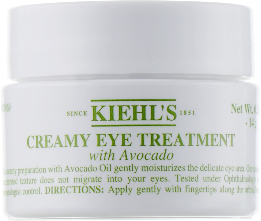 Крем за околоочния контур с авокадо - Kiehl`s Creamy Eye Treatment with Avocado