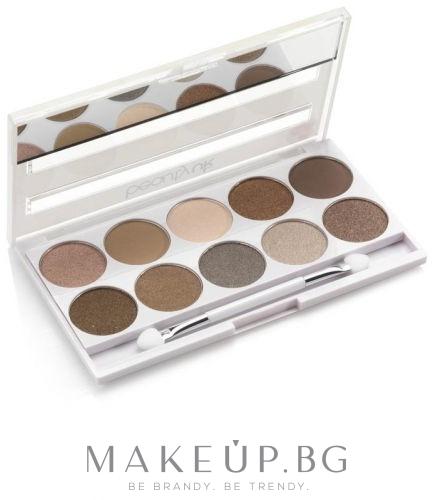 Палитра сенки за очи - Beauty UK Posh Eye Shadow Palette — снимка 01 - Eden