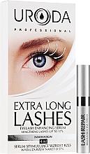 Парфюмерия и Козметика Серум за растеж на мигли - Uroda Professional Extra Long Lashes Enhancing Serum