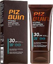 Парфюмерия и Козметика Слънцезащитен крем-гел за лице - Piz Buin Hydro Infusion SPF 30