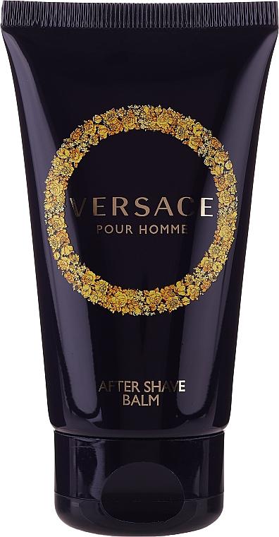 Versace Pour Homme - Комплект за мъже (тоал.вода/50ml + душ гел/50ml + афтършейв-балсам/50ml) — снимка N3