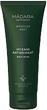 Парфюмерия и Козметика Интензивен антиоксидантен крем за тяло - Madara Cosmetics Infusion Vert Intense Antioxidant Body Cream