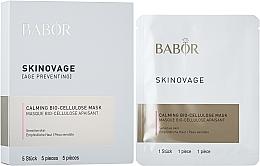 Парфюмерия и Козметика Био целулозна маска за чувствителна кожа - Babor Skinovage Calming Bio-Cellulose Mask