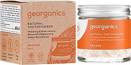 Парфюмерия и Козметика Натурален прах за зъби - Georganics Red Mandarin Natural Toothpowder