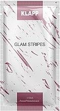 Парфюмерия и Козметика Пачове за лице против бръчки - Klapp Glam Stripes Anti Wrinkle Patches