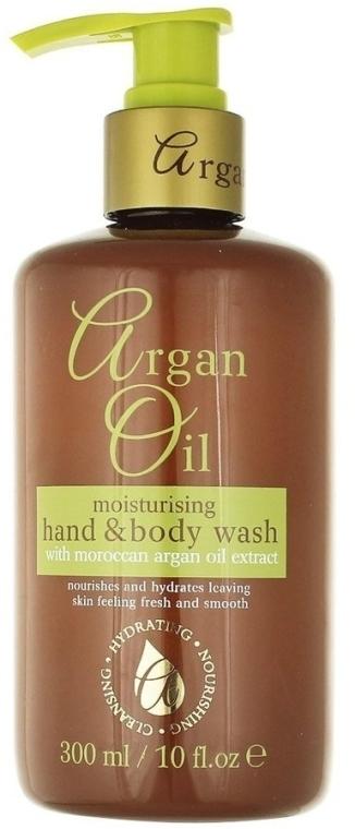 Течен сапун с арганово масло - Xpel Marketing Ltd Argan Oil Moisturizing Hand Body Wash