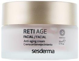 Крем против стареене с ретинол за суха кожа - SesDerma Laboratories Reti Age Facial Antiaging Cream 3-Retinol System — снимка N2